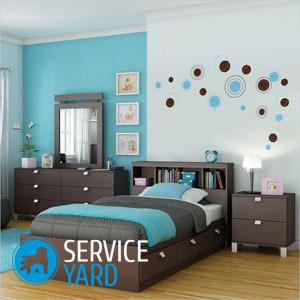 Какие обои подобрать к мебели цвета венге?