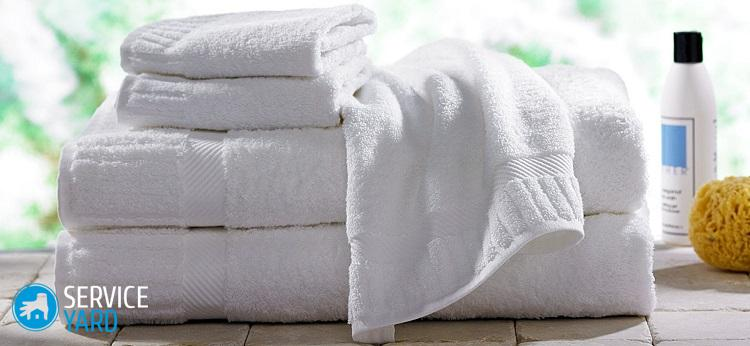 Как отбелить полотенца в домашних условиях без кипячения