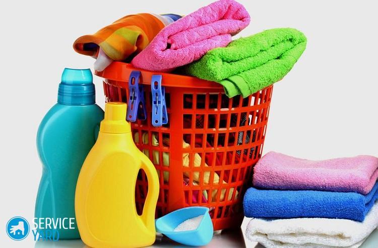 Как правильно отстирать застиранные махровые полотенца
