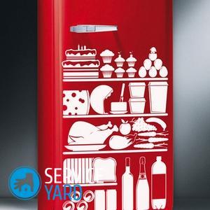 Как очистить холодильник от наклеек?