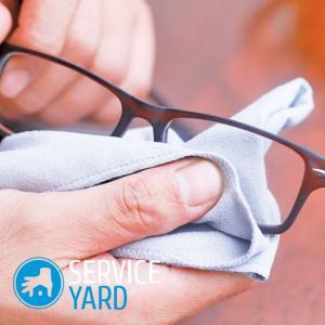 Чем обезжирить стекло 🥝 очков для зрения, как протереть, чем чистить линзы