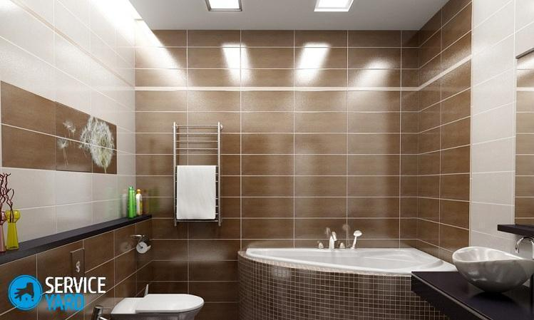 Какие светильники лучше для ванной комнаты?