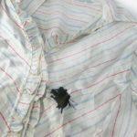 Как удалить гелевую ручку из одежды?
