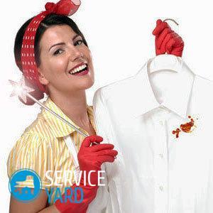 Вывести пятна крови с одежды