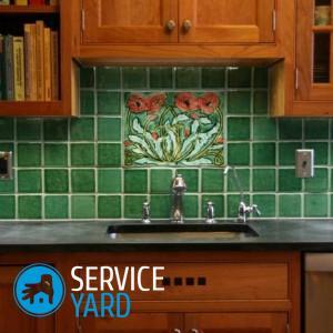 Как приклеить фартук на кухне из пластика?