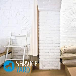 Как сделать кирпичную стену в интерьере своими руками?