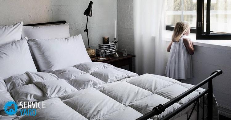 Как постирать одеяло в стиральной машине?