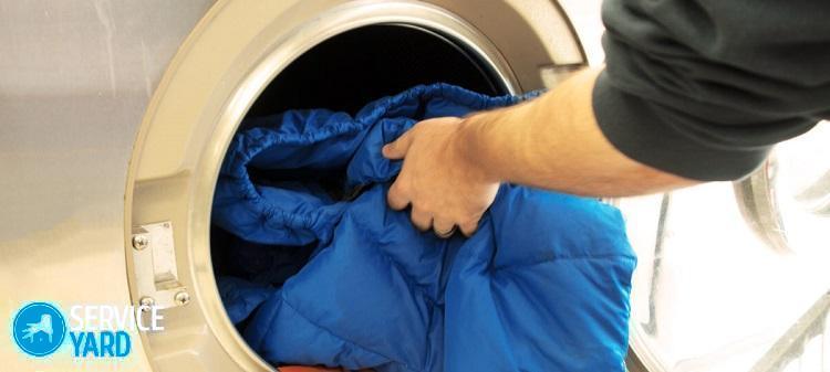 Как стирать куртку на холлофайбере в стиральной машине-автомат?