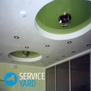 Как обновить потолок из гипсокартона