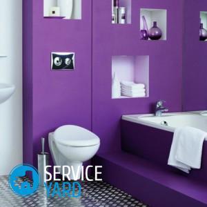 Как по цвету сделать ванную комнату?