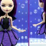 Как сделать одежду для кукол из пластилина?