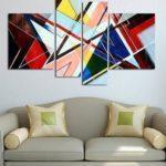 Как повесить картину на стену без сверления стены?