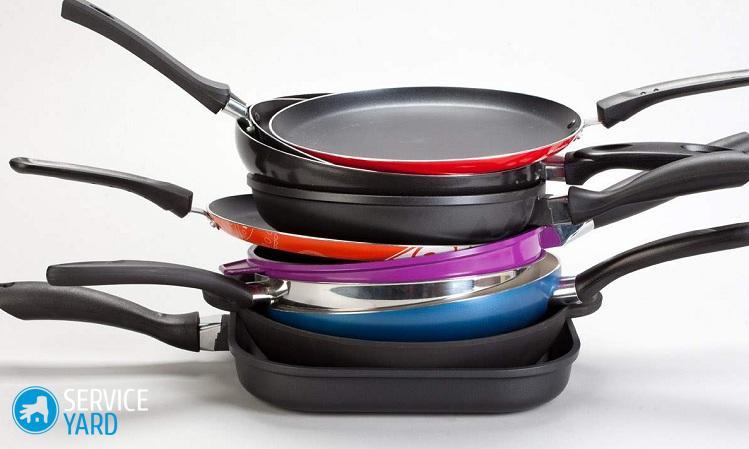Как очистить сковороду с антипригарным покрытием от нагара внутри?