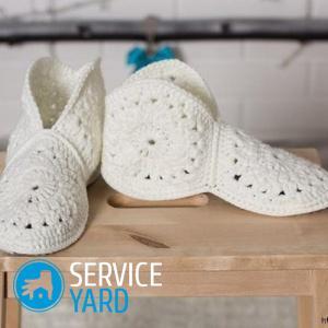Домашняя обувь своими руками схемы 24