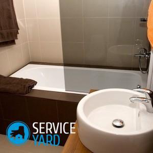Как убрать засор в ванной в домашних условиях?