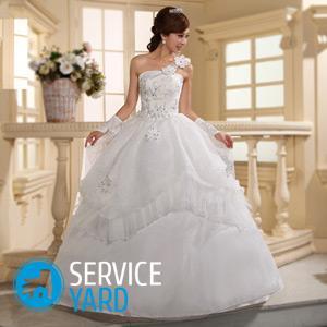 Как постирать свадебное платье в домашних условиях в стиральной машине?