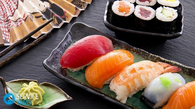 www.GetBg_.net_Food___Seafood_Variety_of_sushi_079351_
