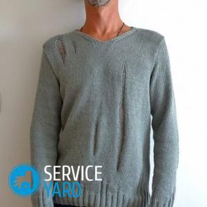 Как украсить свитер?