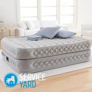 Как выбрать надувной матрас для сна?