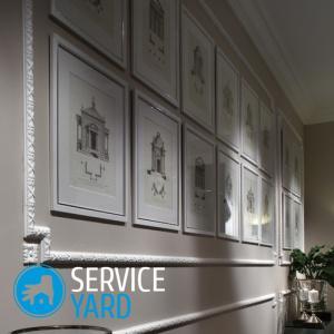 Молдинги на стенах в интерьере 🥝 как клеить настенный, декоративный