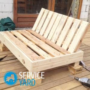 как сделать кровать своими руками из дерева для дачи