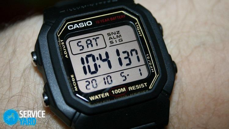 Как настроить электронные часы с 4 кнопками; как выставить время -