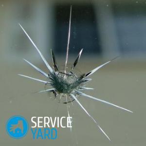 Как убрать трещину на лобовом стекле?