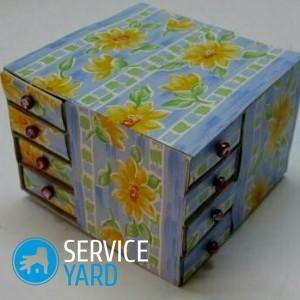Мебель из спичечных коробков своими руками