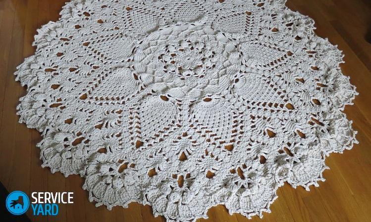 Осинка вязание крючком ковры 48