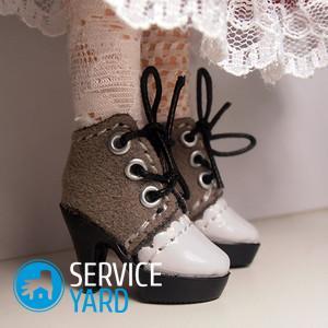 Как сделать туфли для простой куклы фото 902