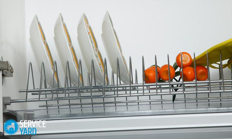 Установка сушилки для посуды в шкаф, ServiceYard-уют вашего дома в Ваших руках