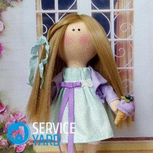 Кукла-попик из колготок своими руками — поэтапно