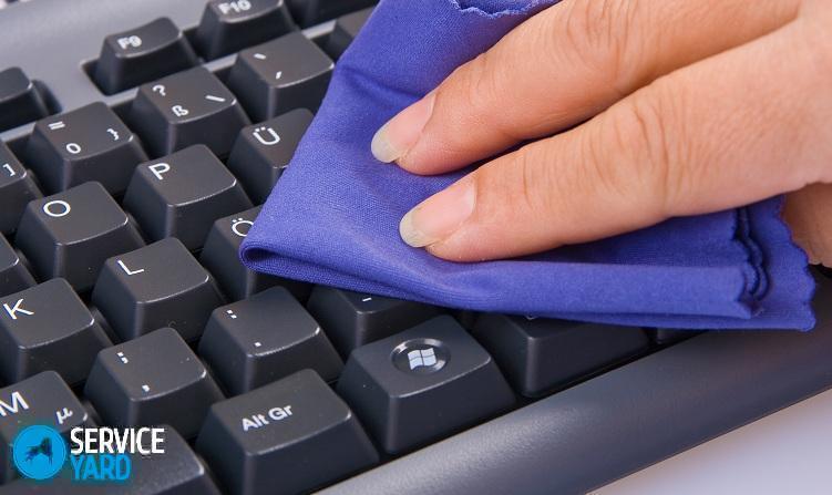 Как разобрать клавиатуру на компьютере и почистить?