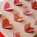 Картина из сердечек своими руками