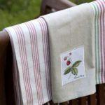 Кухонные полотенца своими руками — идеи