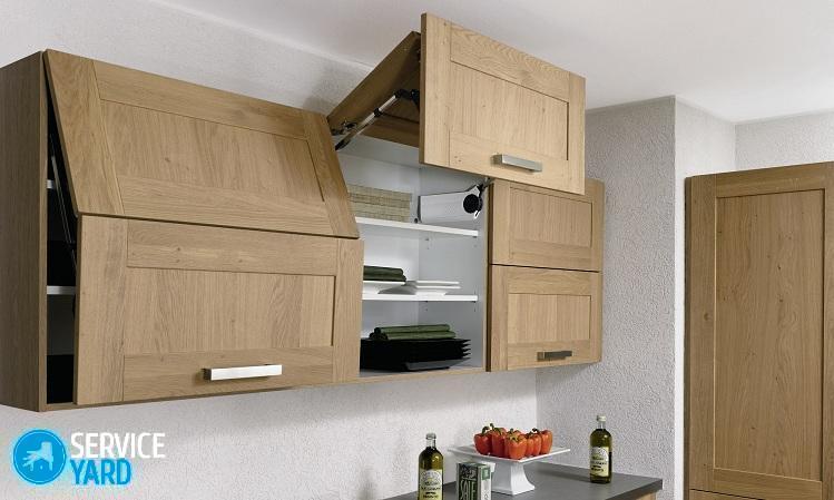 На какой высоте от столешницы вешать кухонные шкафы