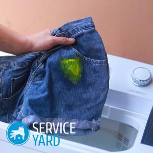 Как вывести машинное масло с одежды?