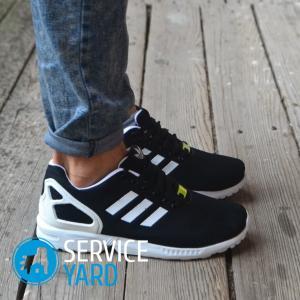 Как завязать шнурки на кроссовках?