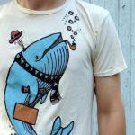 Рисунки на футболках своими руками