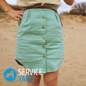 Платье своими руками 🥝 из юбки, как перешить, шитье модного костюма, идеи