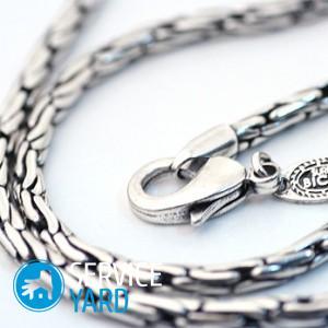 Как выбрать серебряную цепочку мужчине?
