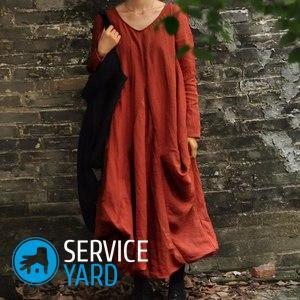 Платье-балахон своими руками
