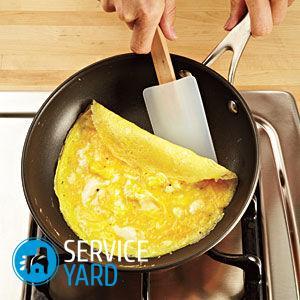 Как сделать пышный омлет на сковороде?