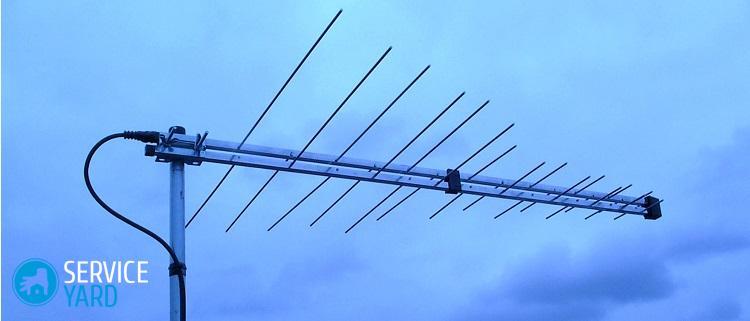 Антенны для цифрового ТВ своими руками -