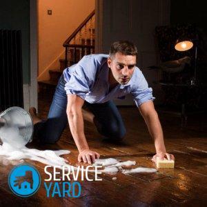 Как мыть полы с солью, для очистки дома