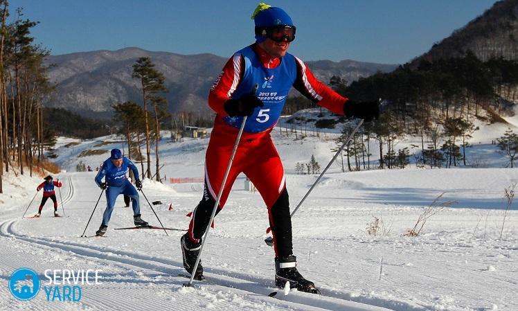 Подбор лыж по росту и весу - таблица