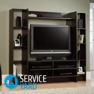 Крепление телевизора на стену своими руками