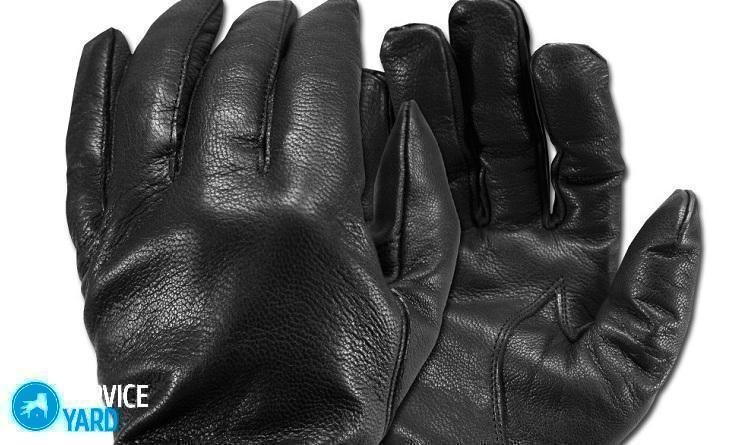 Как постирать кожаные перчатки в домашних условиях?