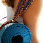 Коврик для йоги своими руками