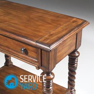 Реставрация стола в домашних условиях